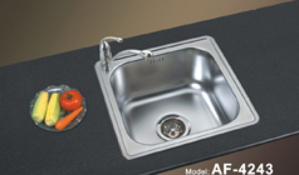 Topmount Single Bowl Kitchen Sinks