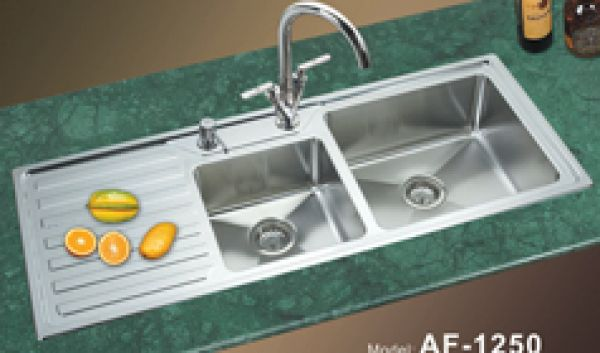 Steel Restaurant Kitchen Sinks, China manufacturer, Stainless Steel ...