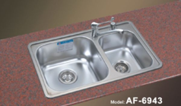 Undermount Double Bowl Kitchen Sinks