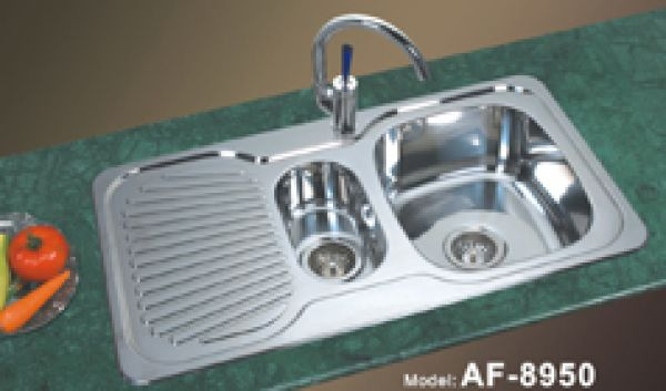 Double Basin Composite Kitchen Sink