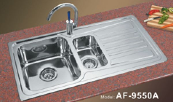 Drainboard Kitchen Sink