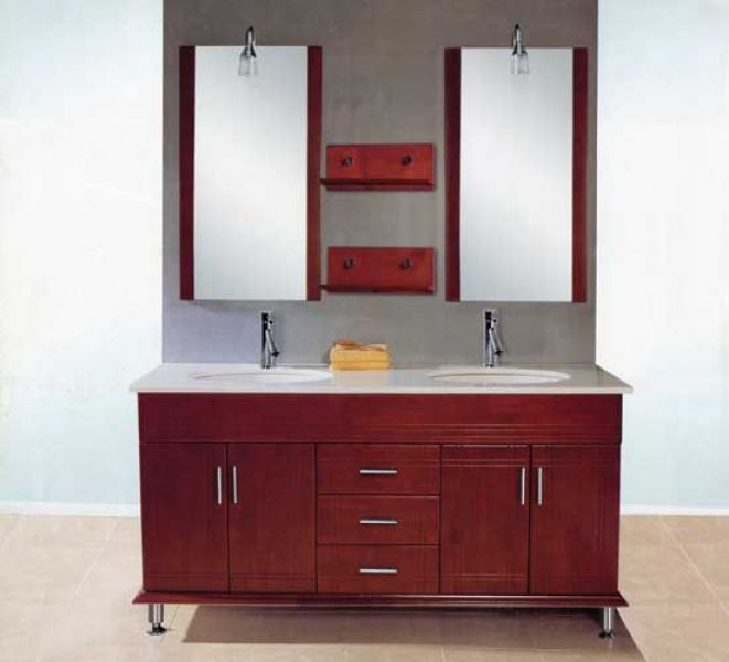 Bathroom oak cabinets bathroom cabinets for Bathroom ideas with oak cabinets