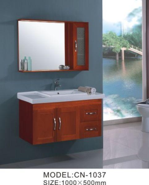 Solid Wood Bathtub Cabinet