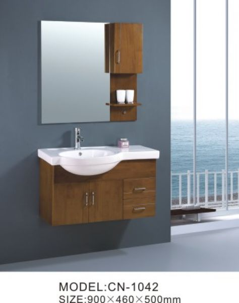 Solid Wood Bathroom Cabinets