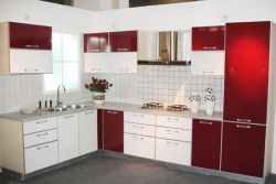 Vinyl Kitchen Cabinets
