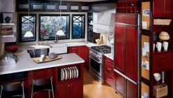 English Cottage Kitchen Cabinets