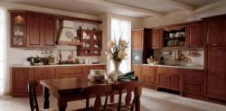 Teak Warmth Kitchen Cabinets