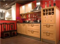 Wood Kitchen Cabinet