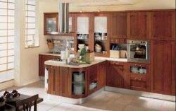 Teak Kitchen Cabinet