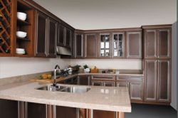 Solid Cherry Kitchen Cabinets