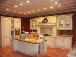 PVC Wrap Kitchen Cabinets